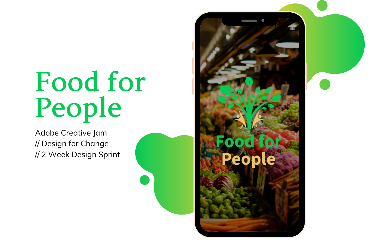 food for people mobile app prototype