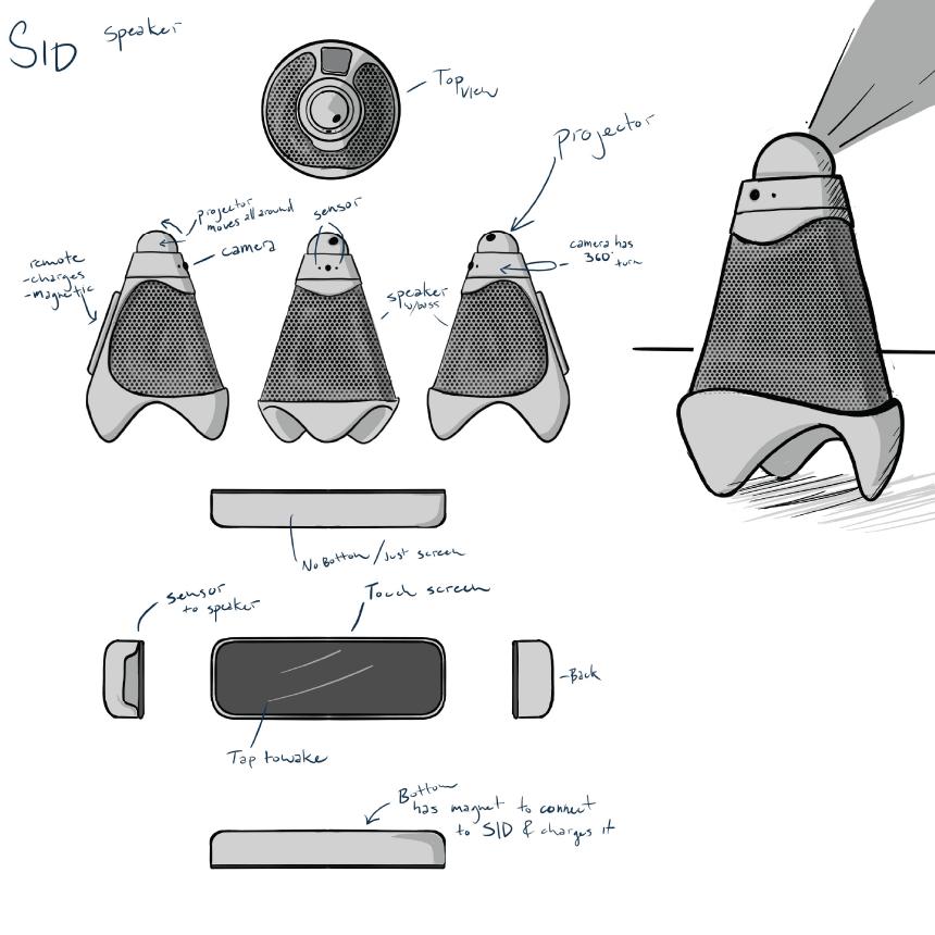 I designed the orthopedic drawing of SiD.