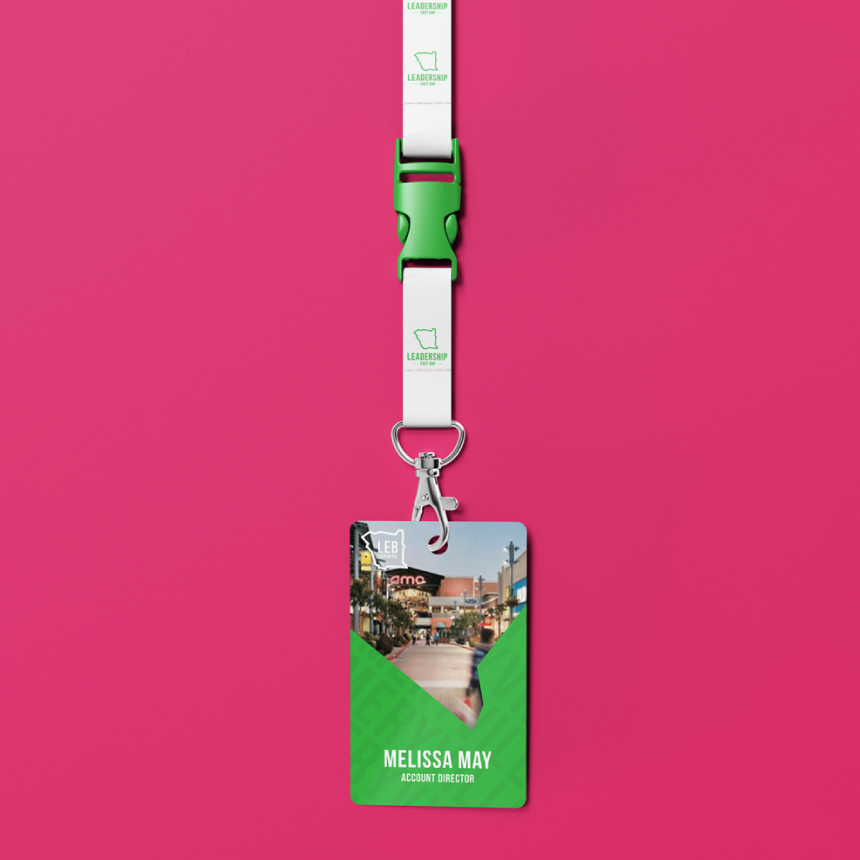 Personal Identification Cards and Holders which will be unique depending on the city each participant belongs to.