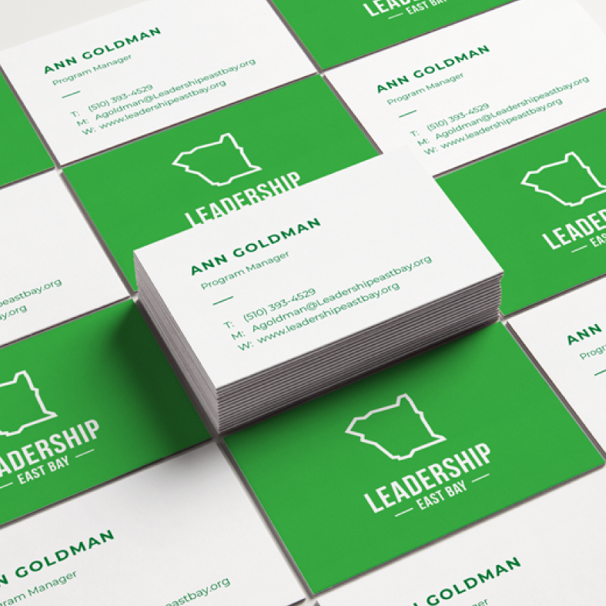 An added business card design to support their in-person networking efforts.