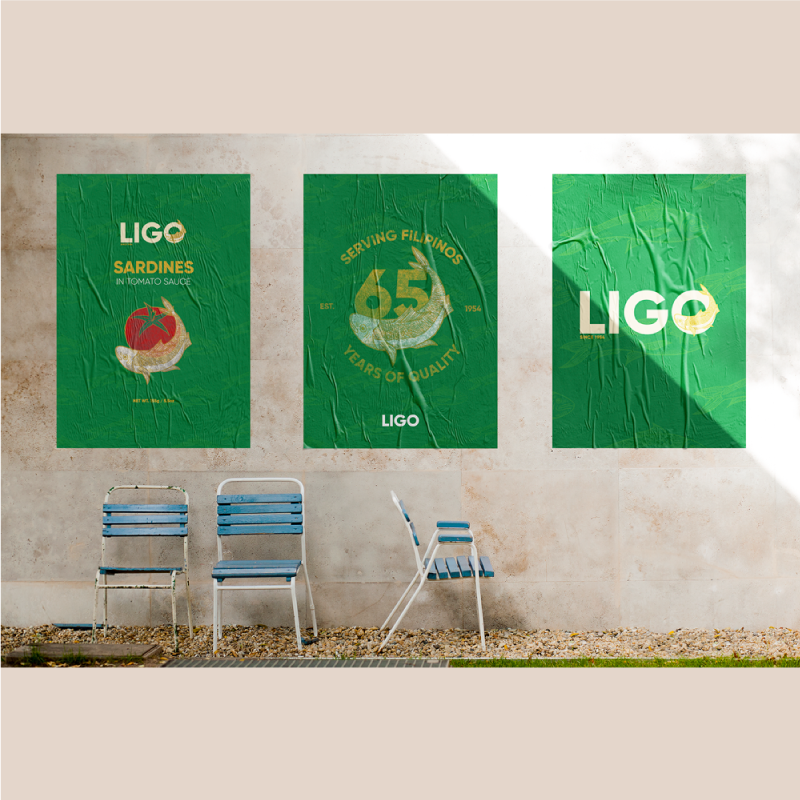 Poster designs from the redesign project