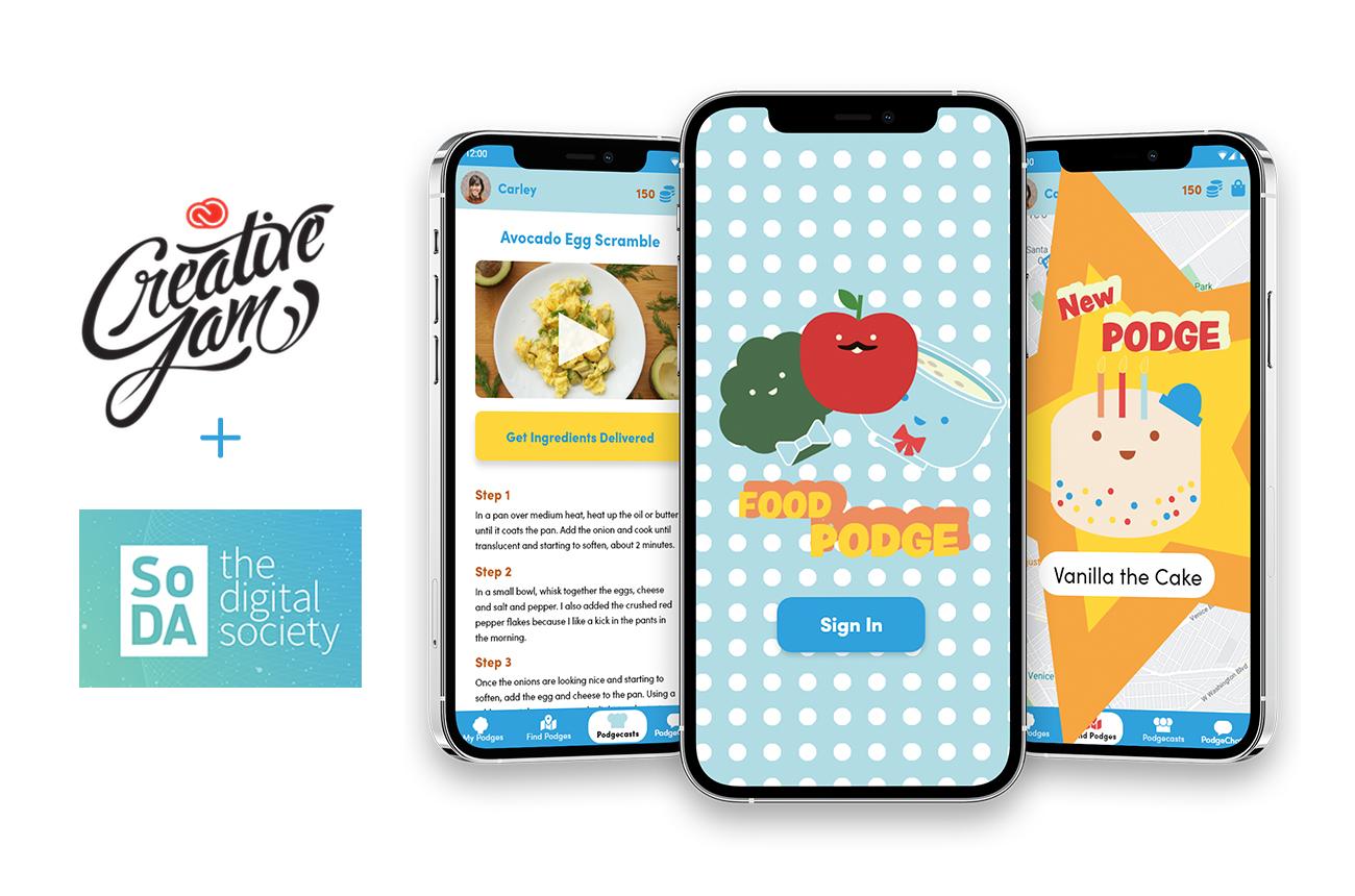 FoodPodge food insecurity app