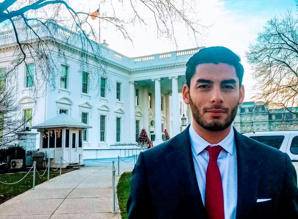 Ammar at the White House - Ammar Campa-Najjar for Congress CA50