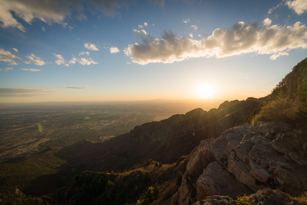 The Sandia Peak Tramway is recommended by notable locals as one of the best outdoor activities in Albuquerque, NM.