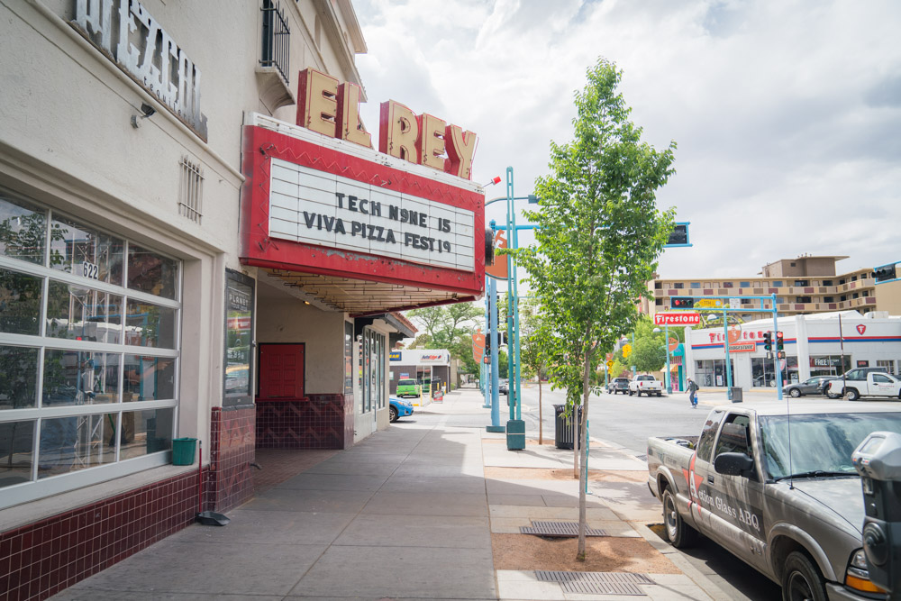 The El Rey Theatre is recommended by notable locals as one of the best concert venues in Albuquerque, NM.