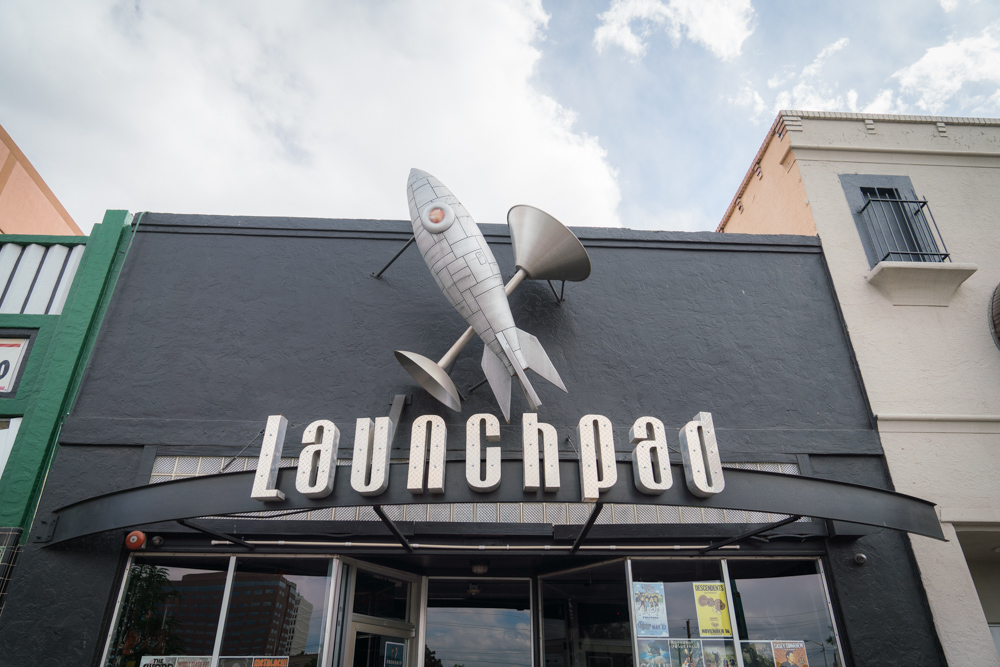 Launchpad is recommended by notable locals as one of the best concert venues in Albuquerque, NM.