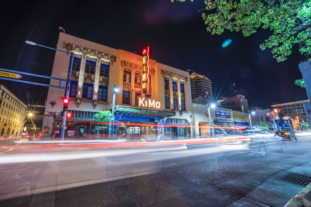 The KiMo Theatre is recommended by notable locals as one of the best theatres in Albuquerque, NM.