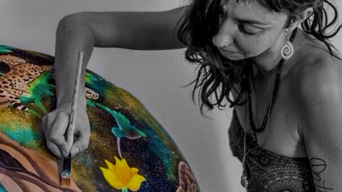 "Interview avec une artiste: Pam ""Gogh"" Marinelli"