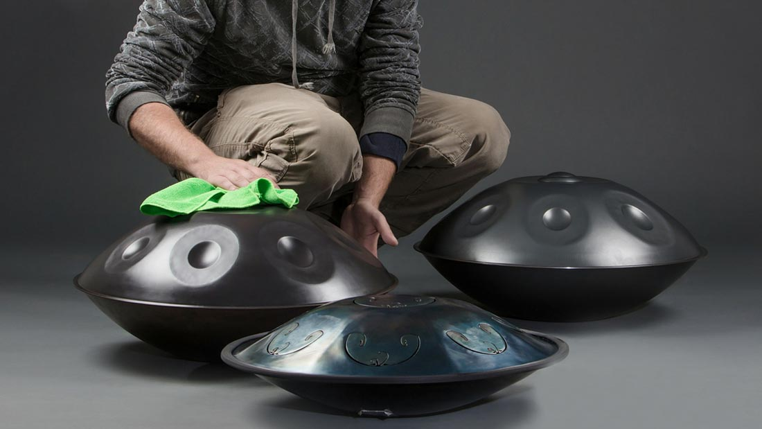 Handpan care: your step-by-step guide to cleaning, protection and rust removal