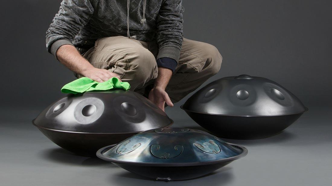 Le guide complet d'entretien de votre handpan : nettoyer, protéger et enlever la rouille