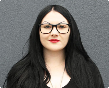 Front facing portrait photo of Rebecca Ellix