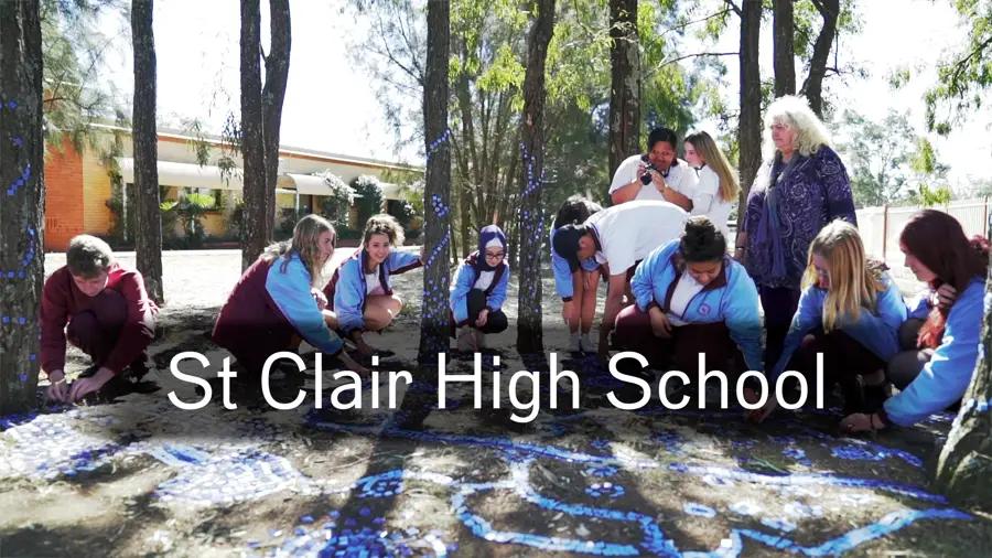 2019 Your Public Art Project - St Clair High School