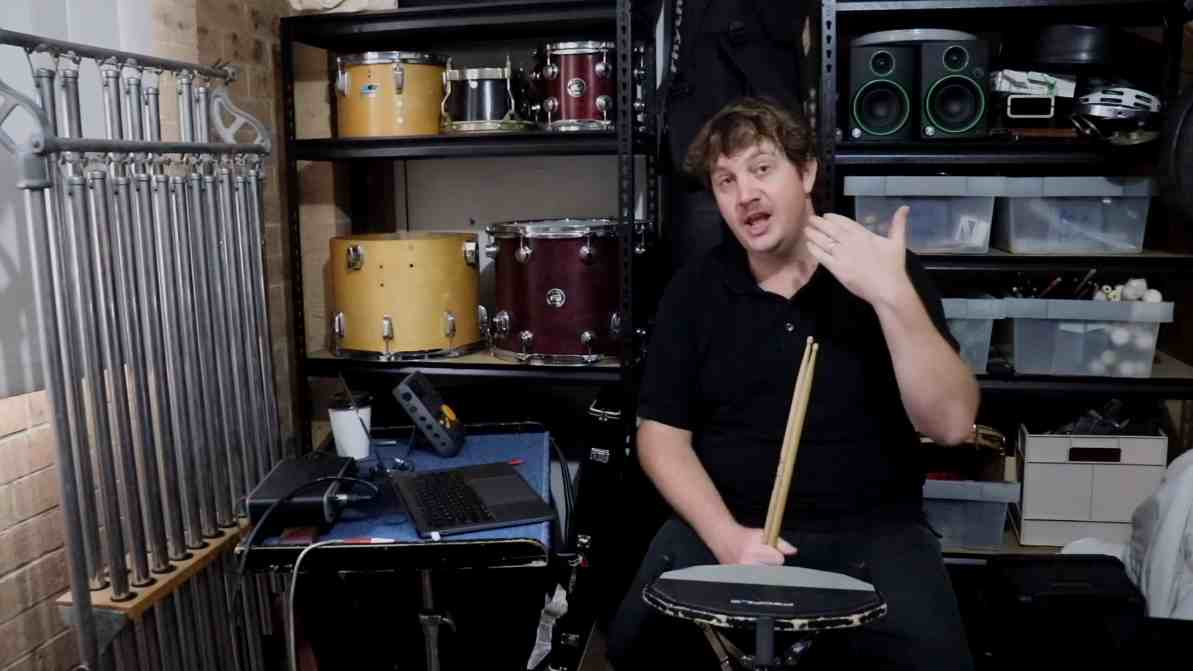 Drumming – 2. Warming up those sticks