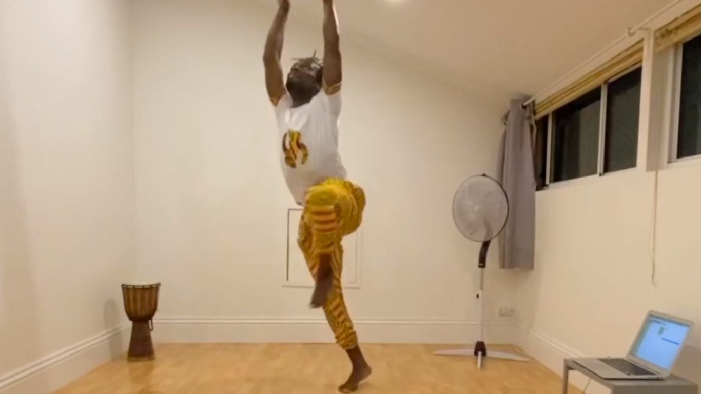 African dance – 2. West African movement