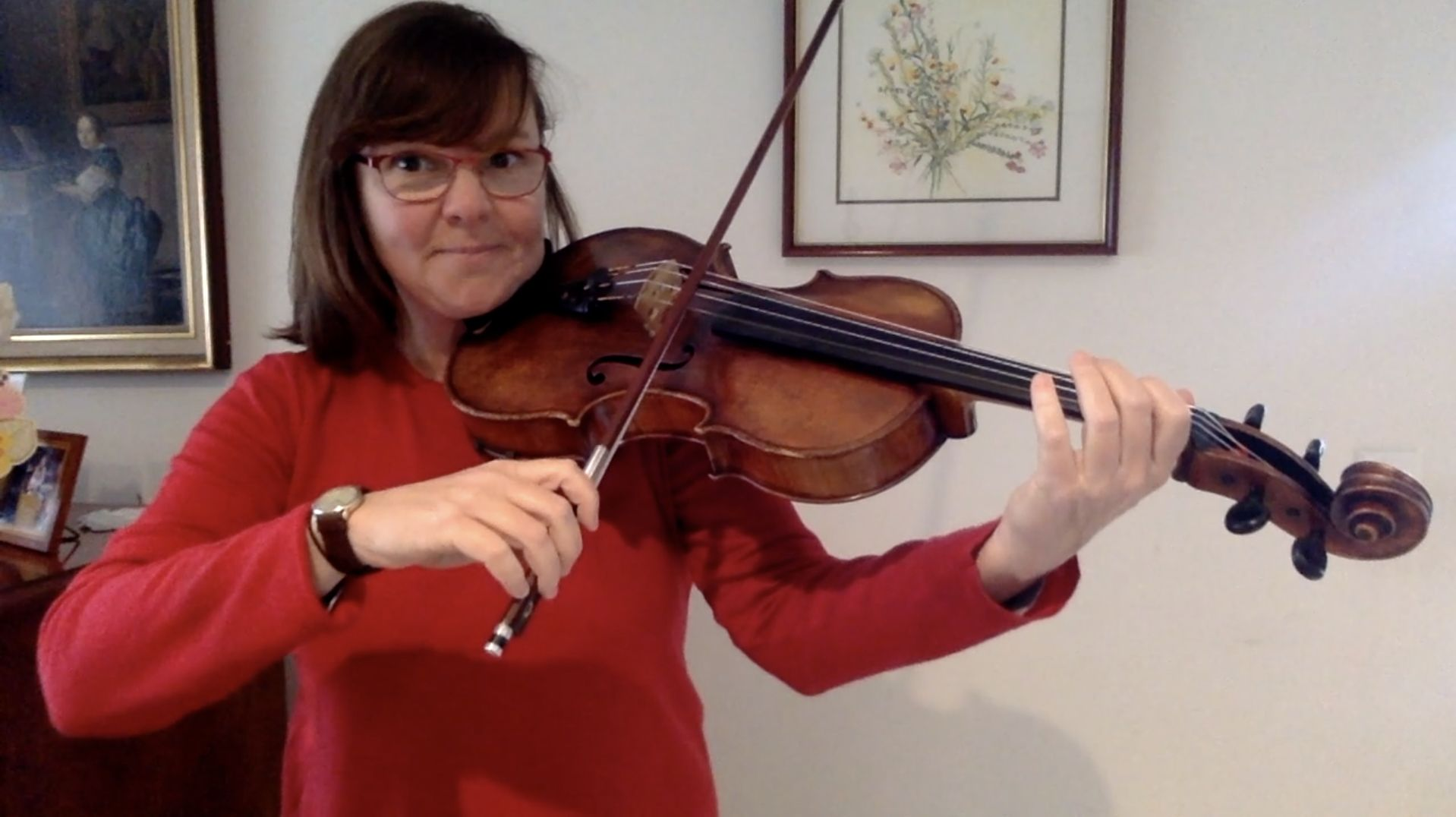 Viola – 2. D is for dazzling dinosaurs – Warm-ups and scale fun in D major