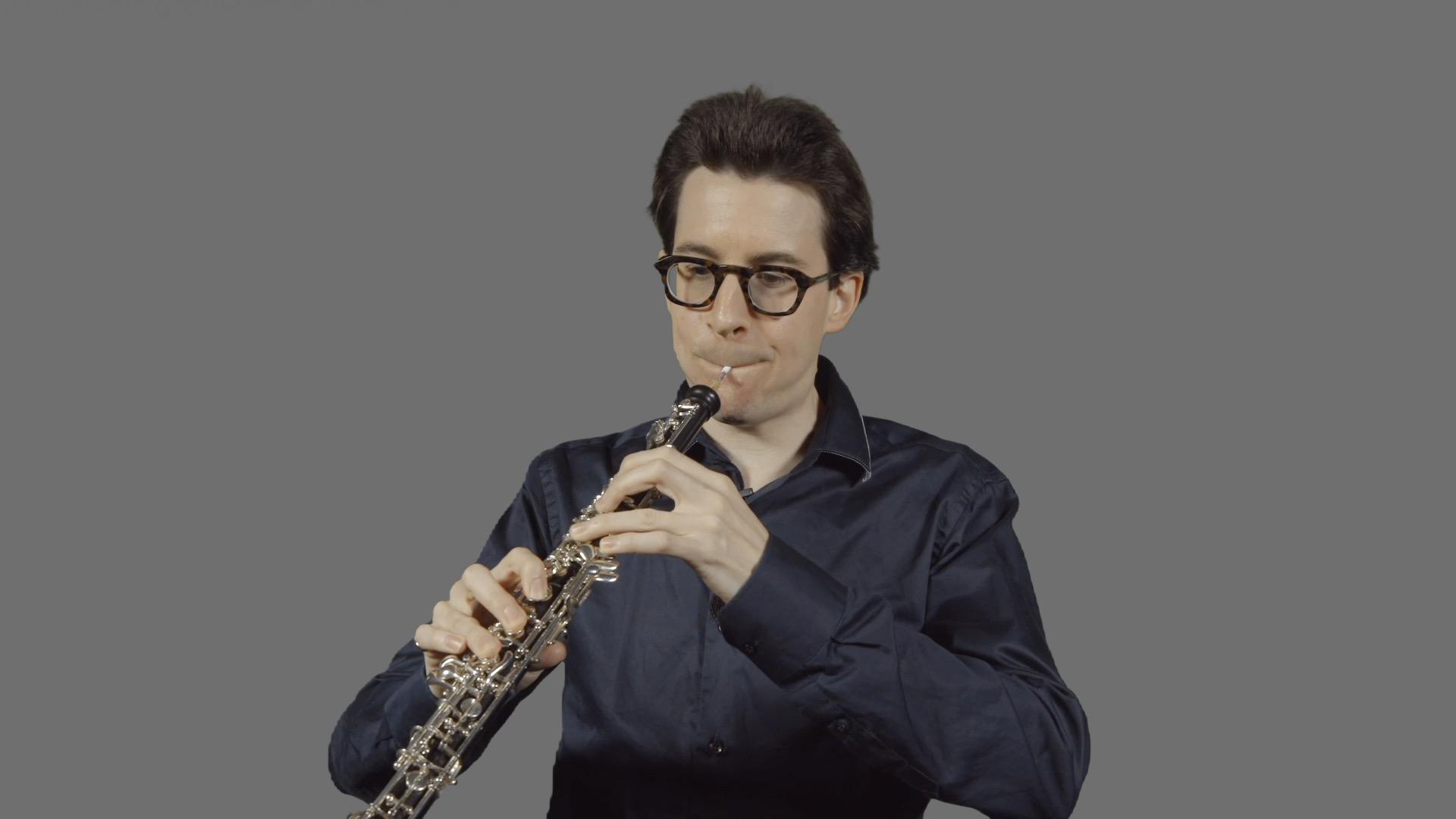 Oboe – 1. Embouchure and finger technique