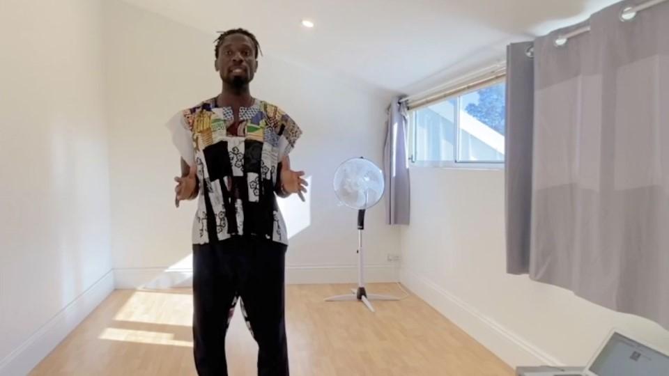 African dance – 3.  Kpanlogo Dance from Ghana