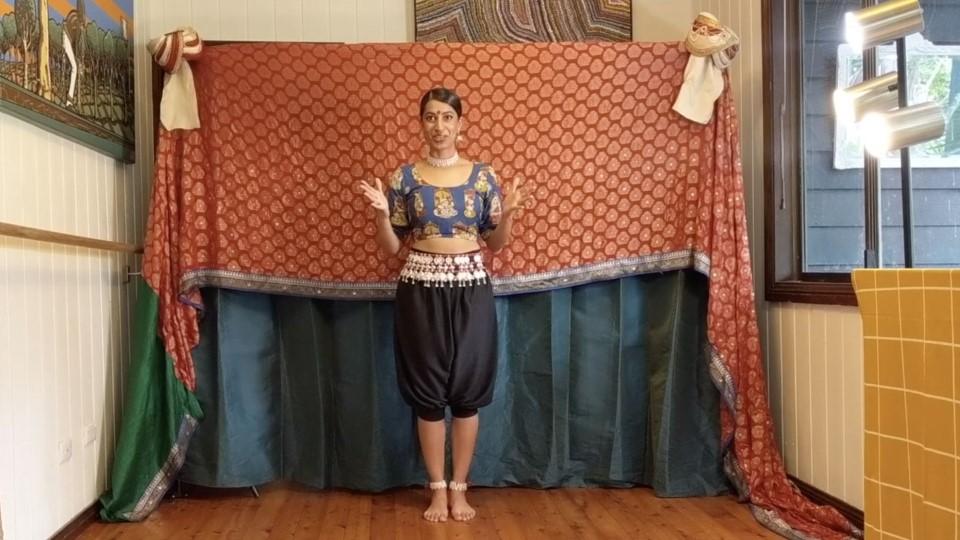 Indian dance – 3. Semiclassical part 2