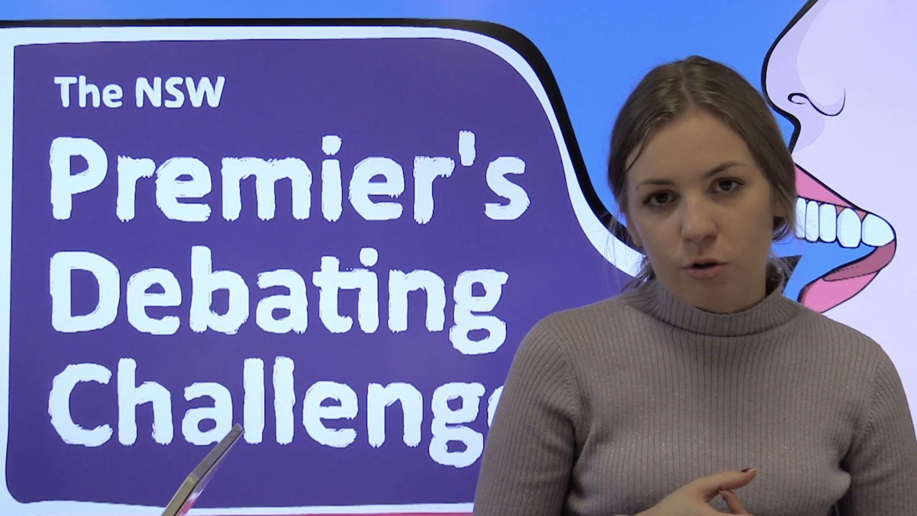 Defining a primary school debating topic – 9. with Elinor Stephenson