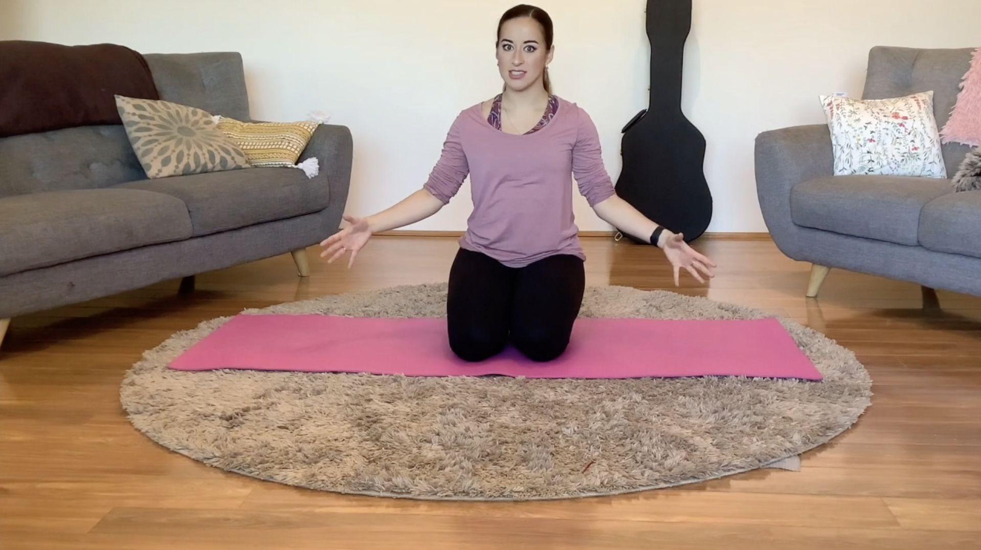 Contemporary dance training – 03. Pilates 2