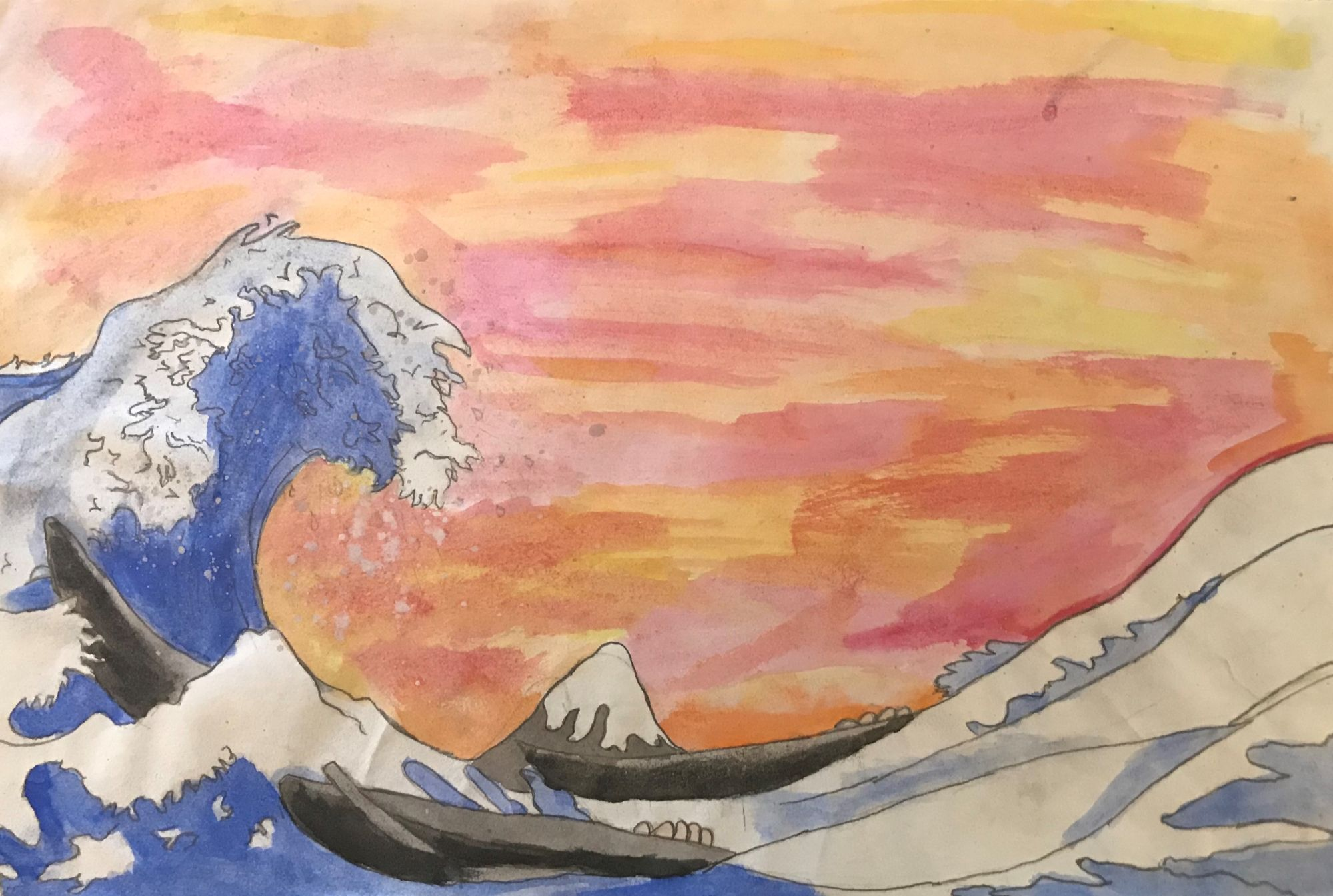 Nagoya Art Exchange – 04 – Tasma Spalding – The Great Wave