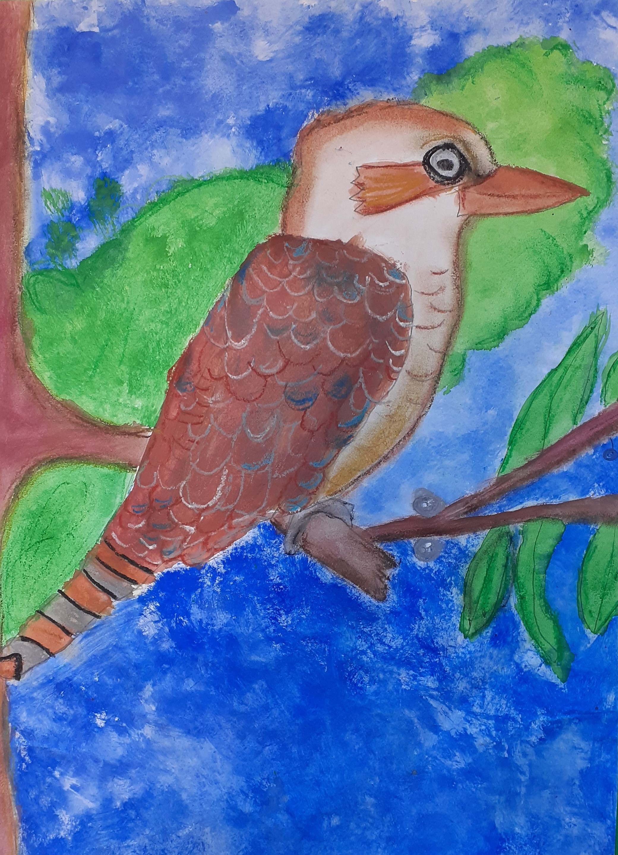 Nagoya Art Exchange – 02 – Ruby Ryan – The Kookaburra