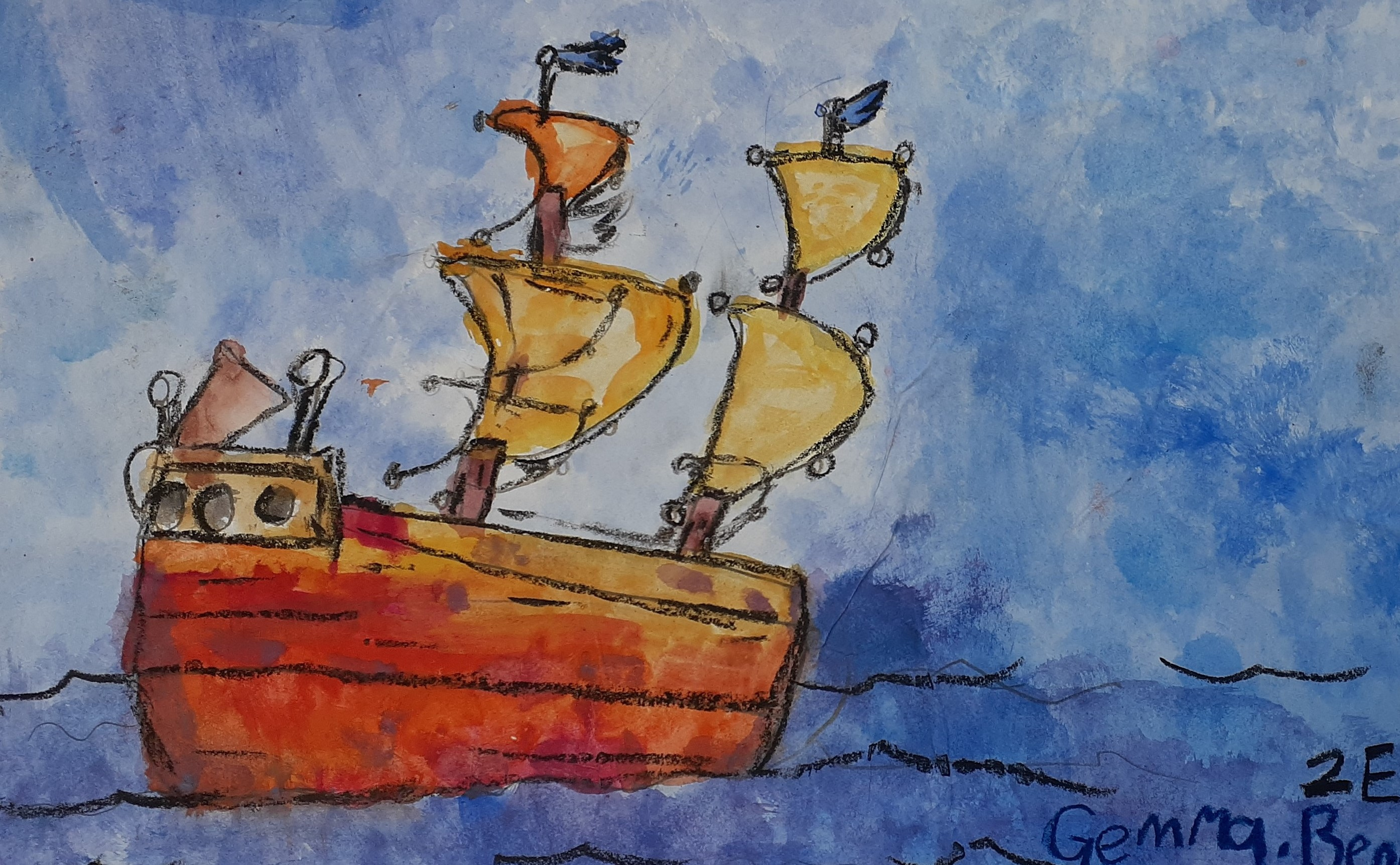 Nagoya Art Exchange – 06 – Gemma Bennett – Sailing the Seas