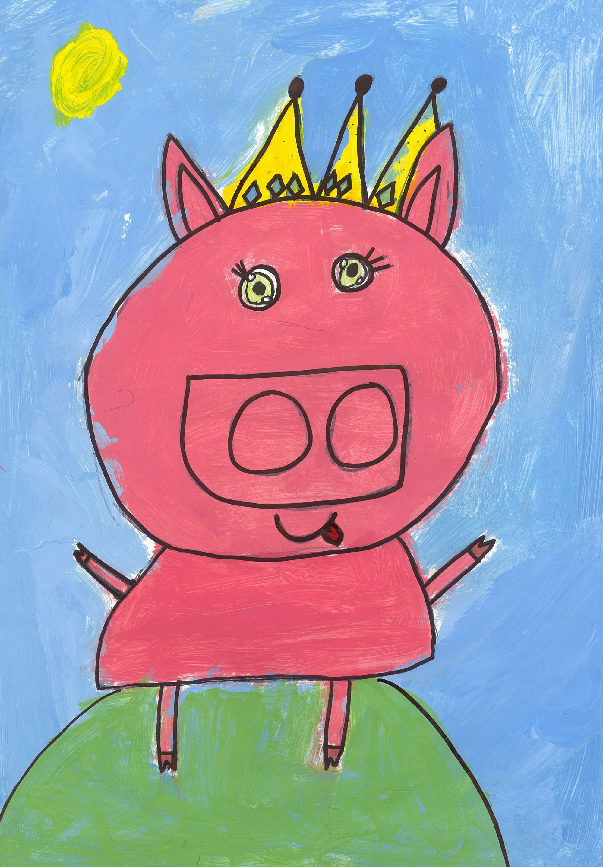 Queen Pig