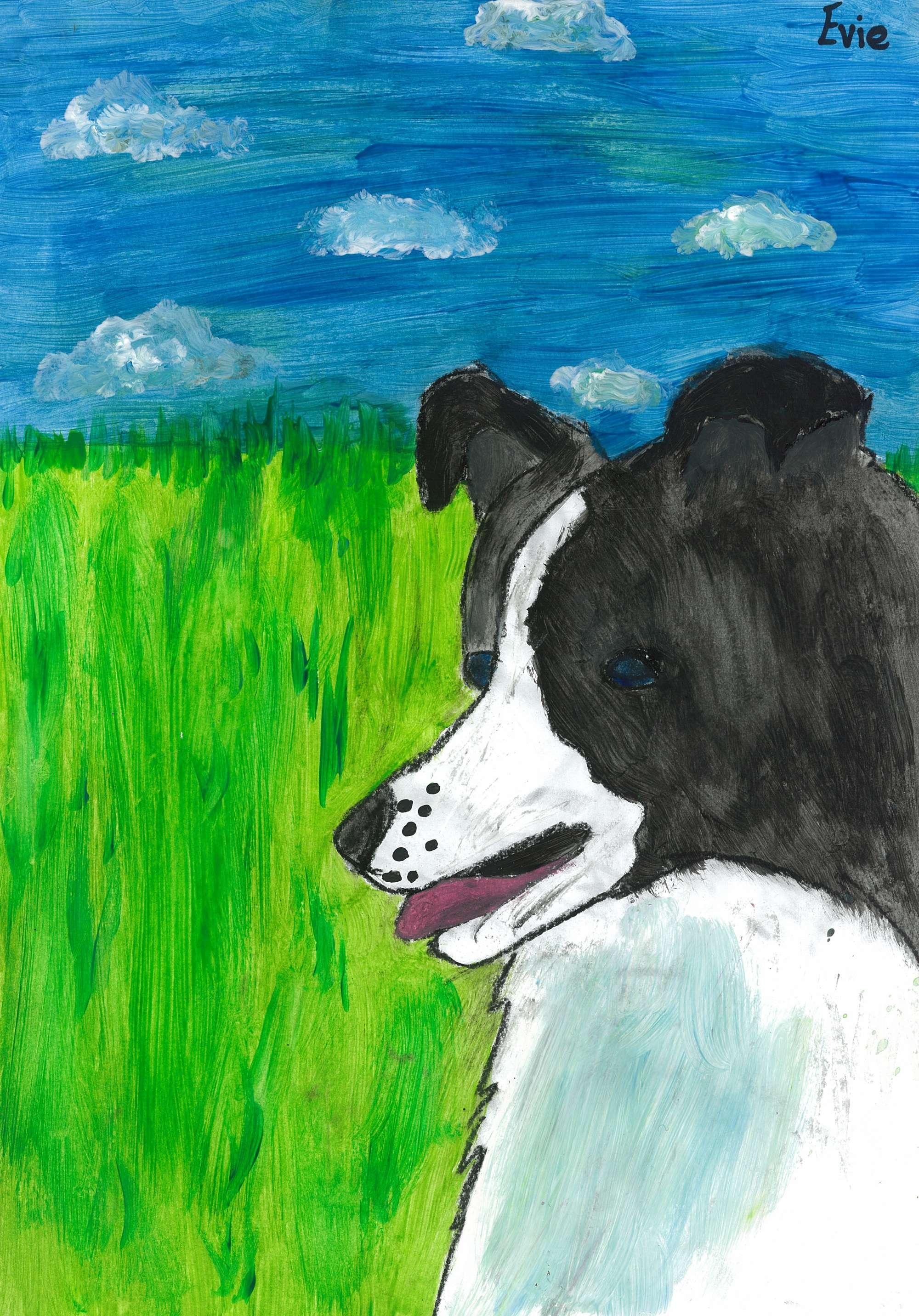 A Joyful Dog