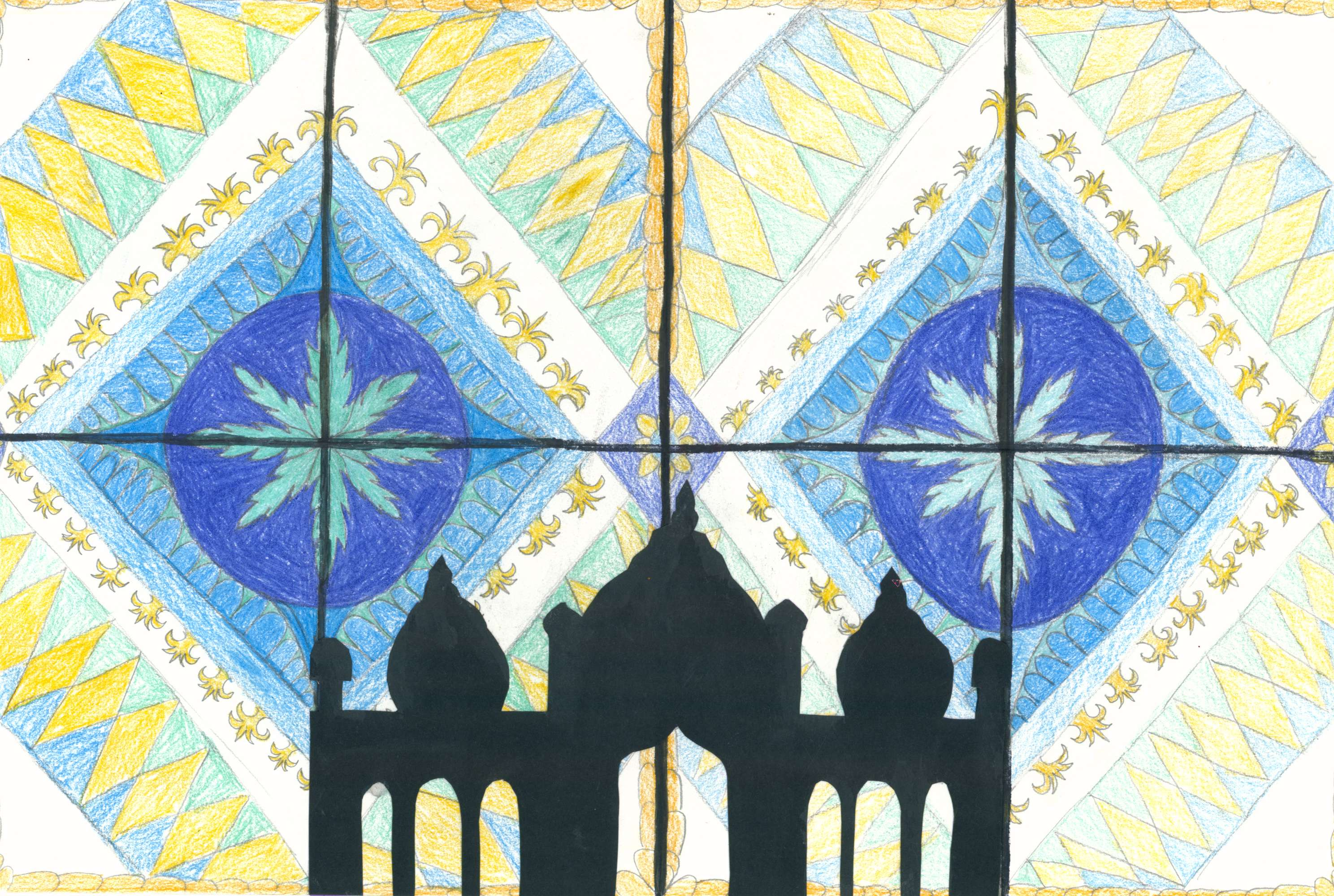 Inspired by the Blue Mosque