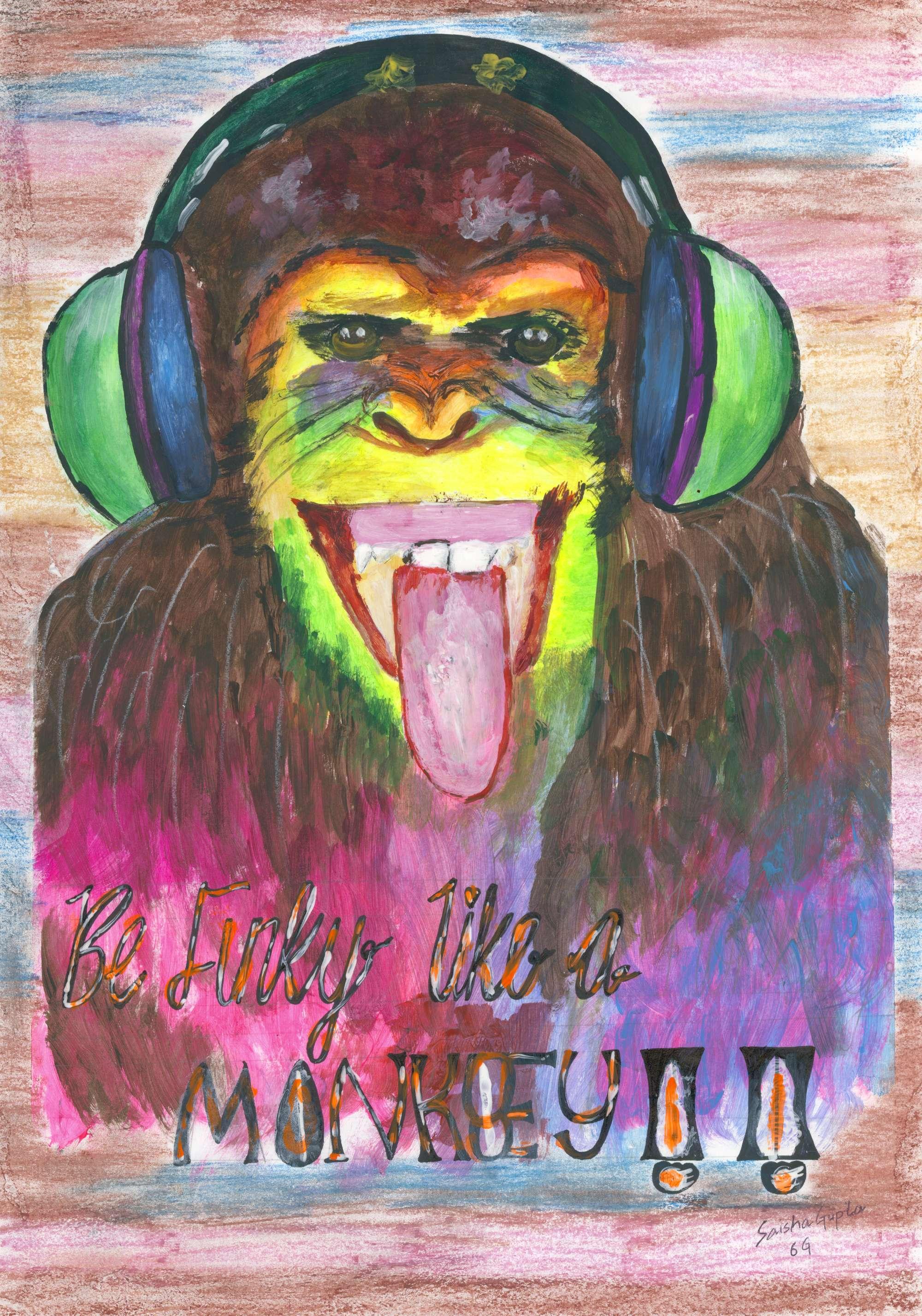 Be Funky Like a Monkey