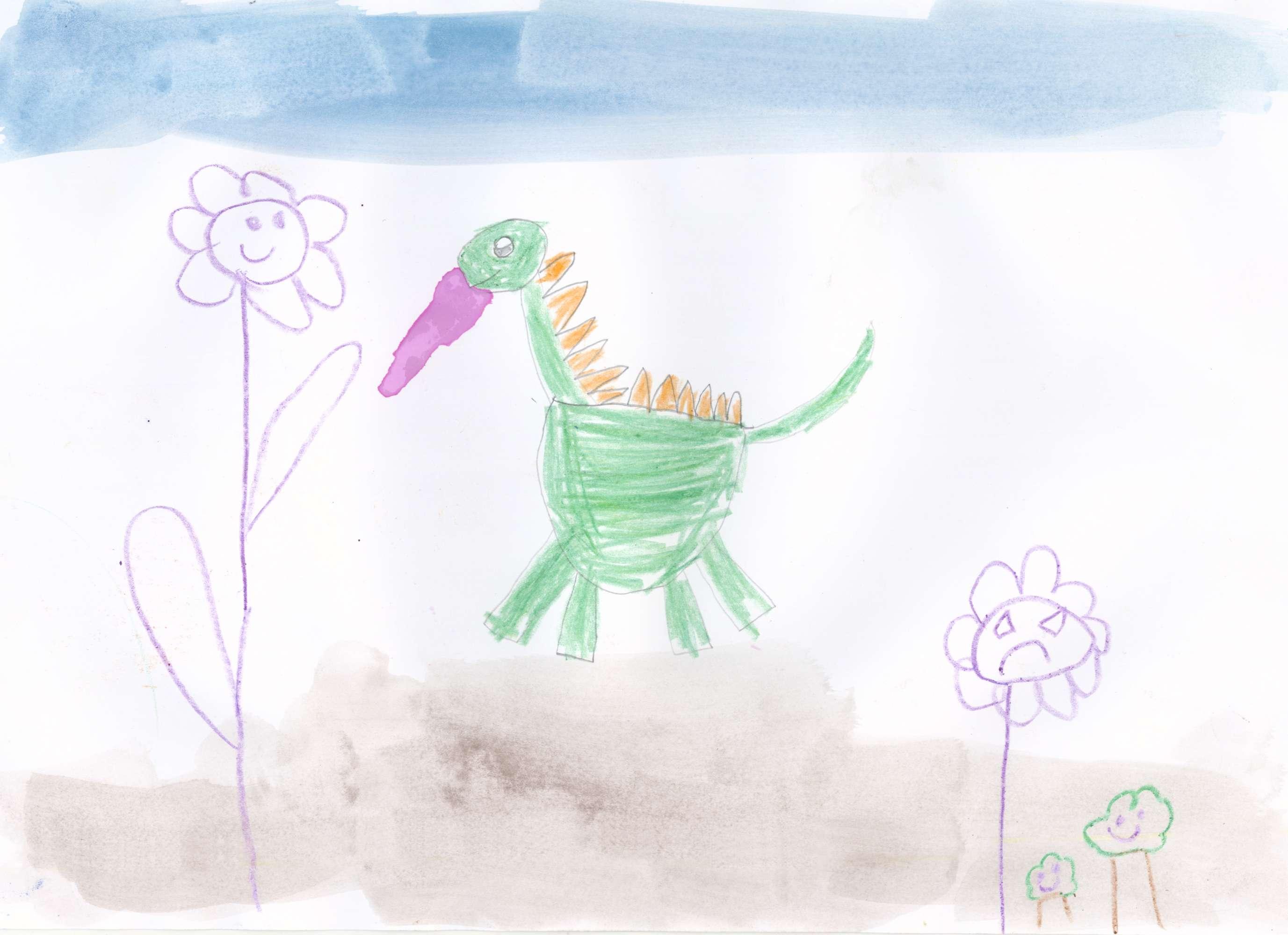 The Dirty Dinosaur
