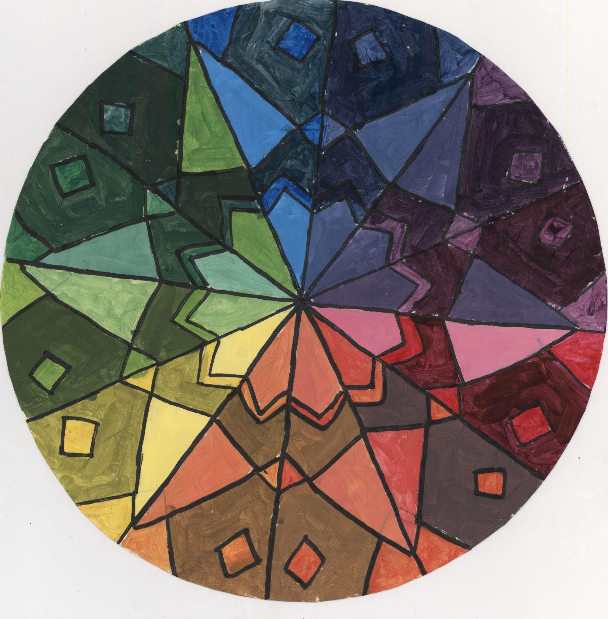 Mandala Colour Wheel