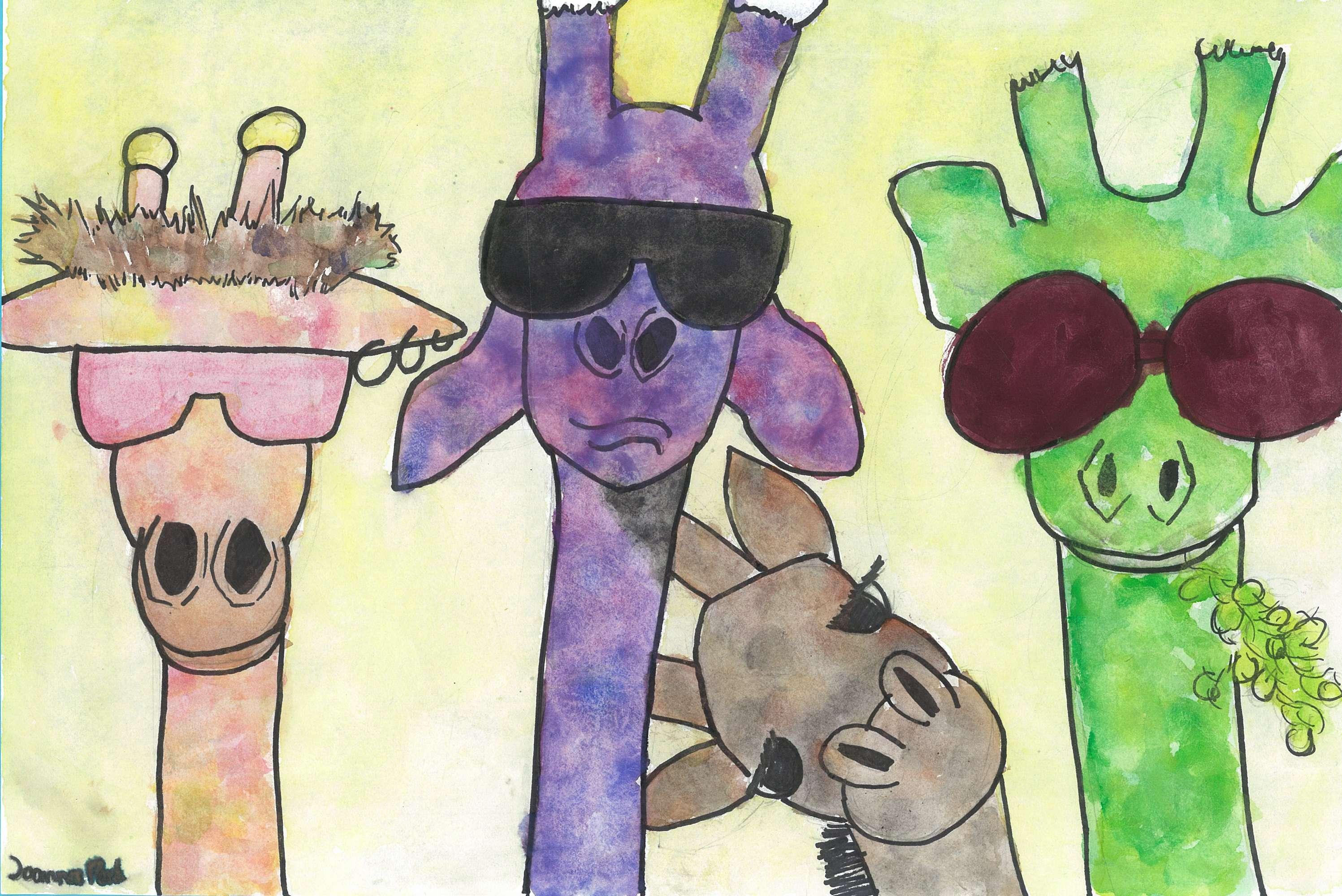 Funky Giraffes