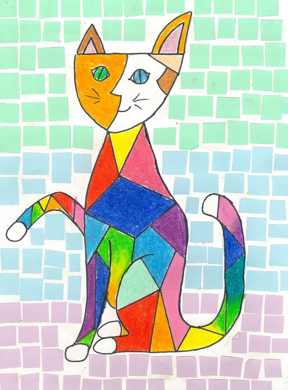 Picasso Cat