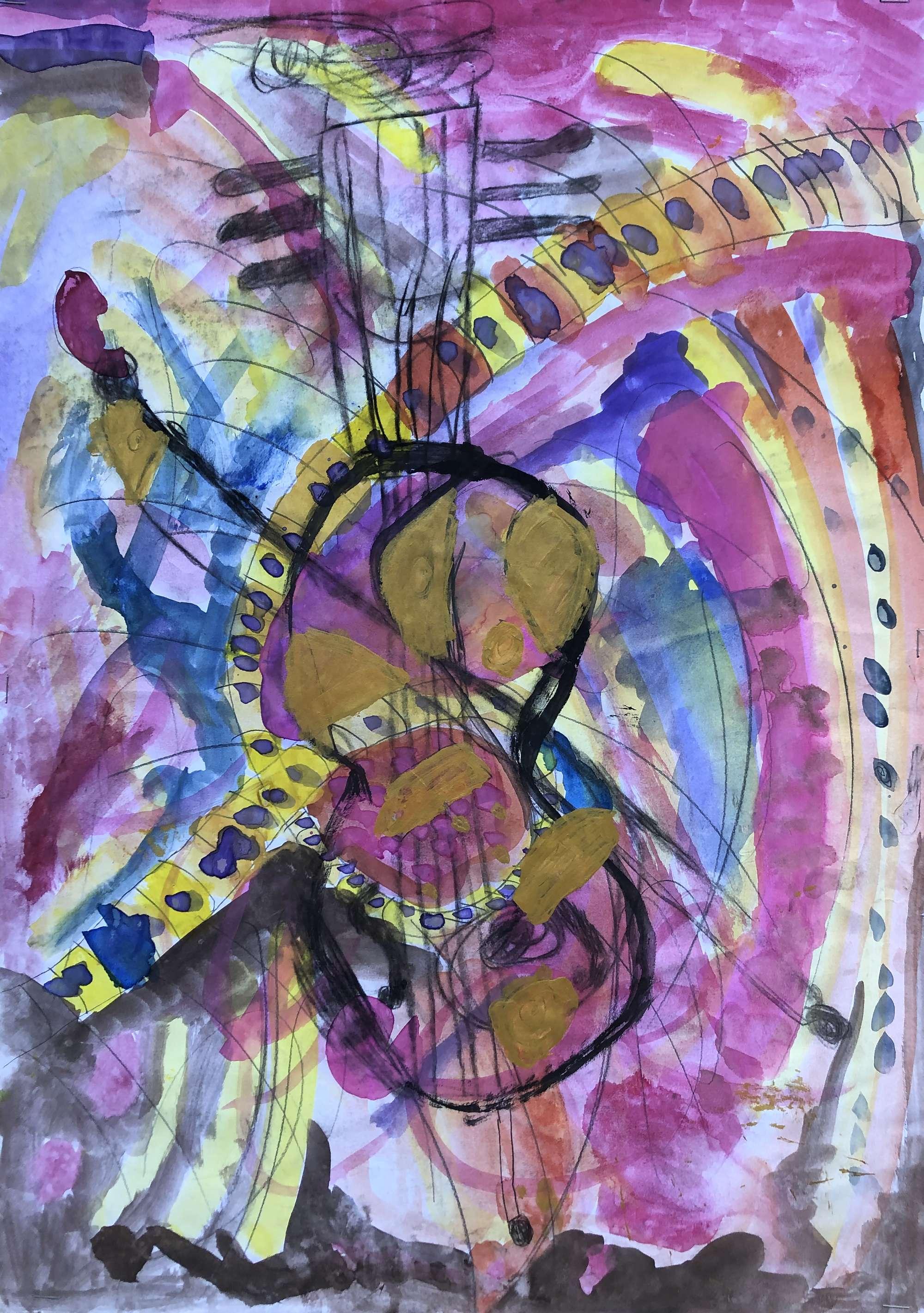 Kandinsky with Still Life