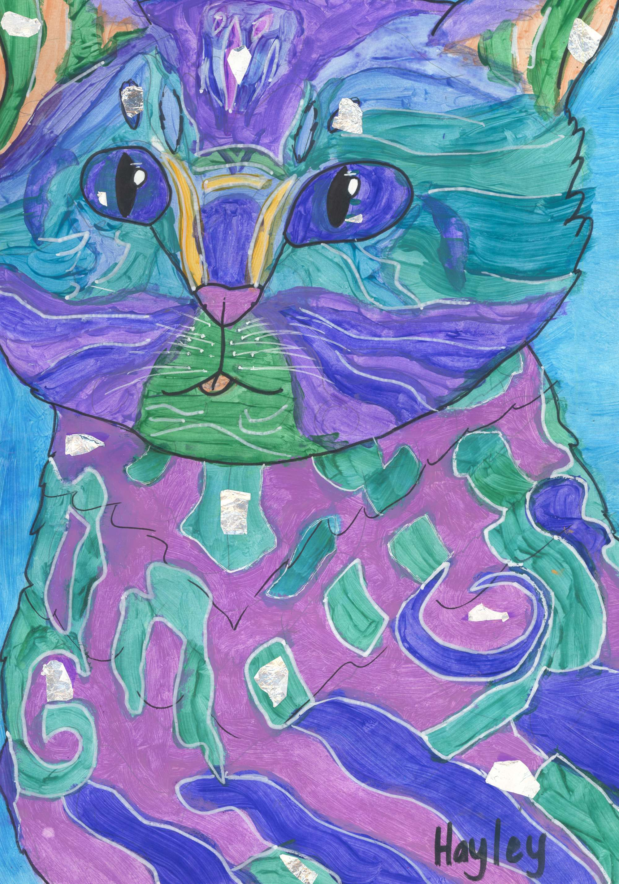The colourful 9 lives of cats