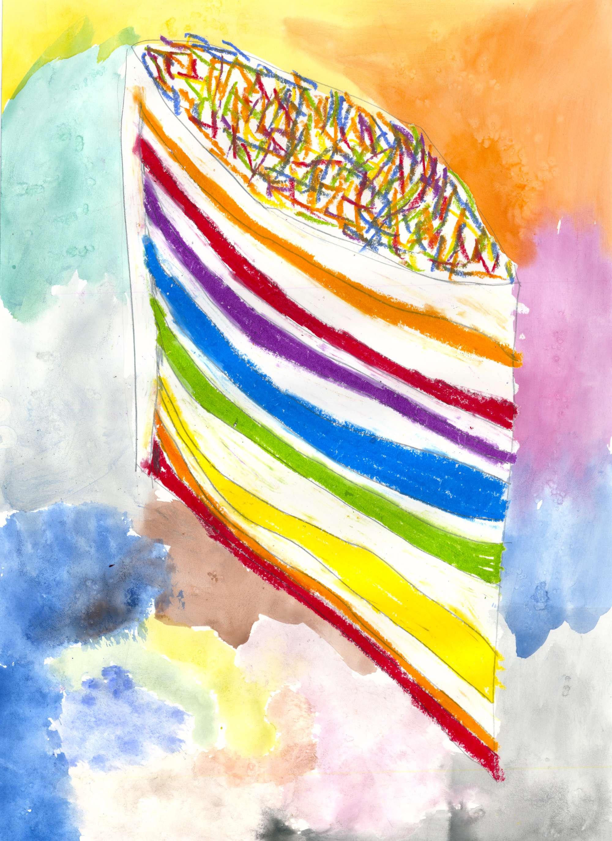 Delicious Rainbow Cake 1