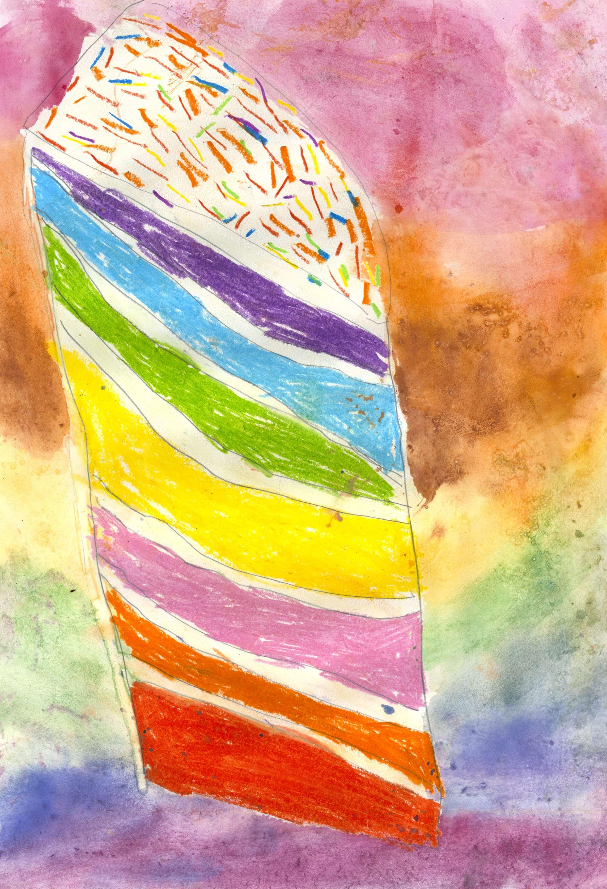 Delicious Rainbow Cake 2