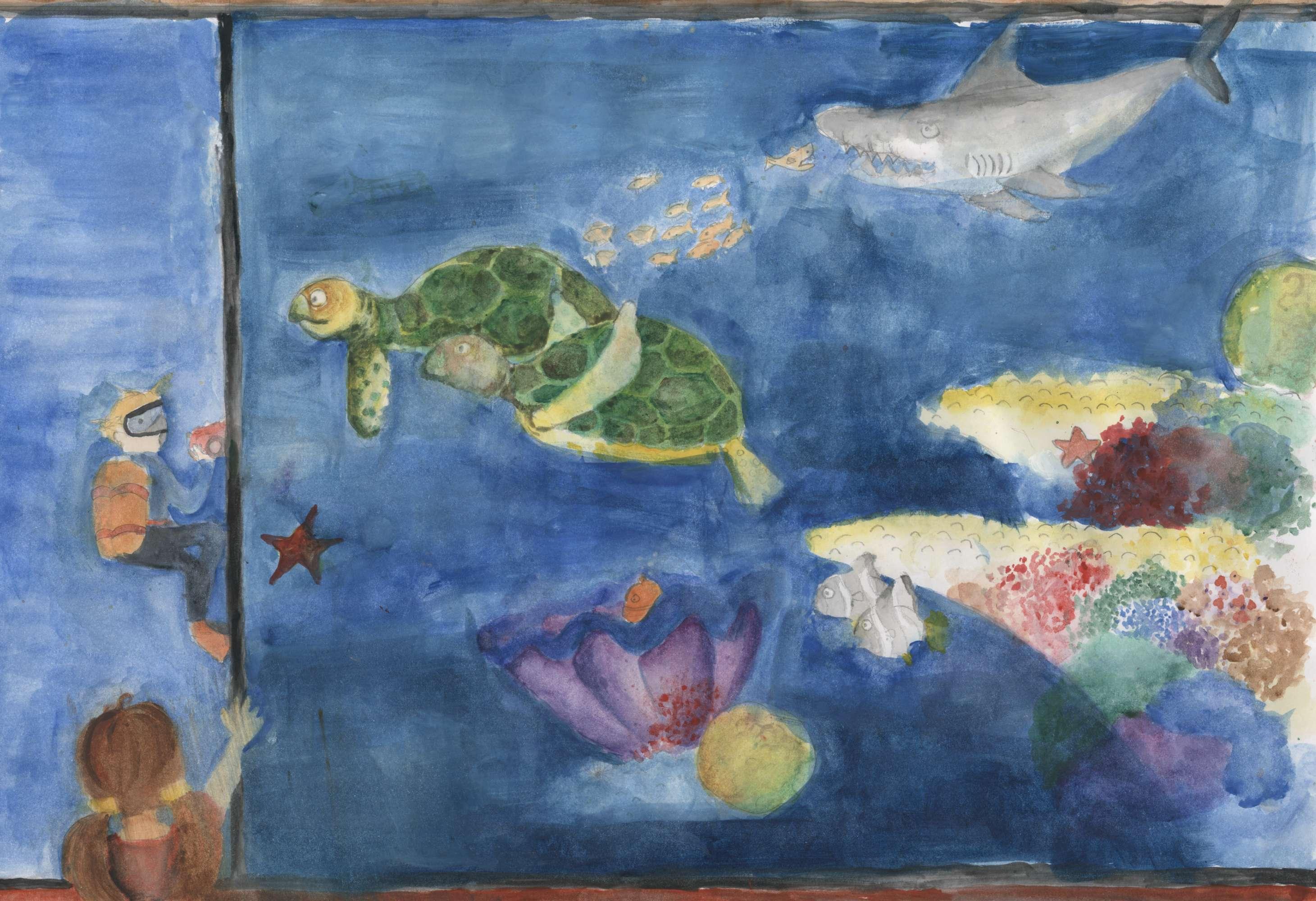 The Aquarium Stare