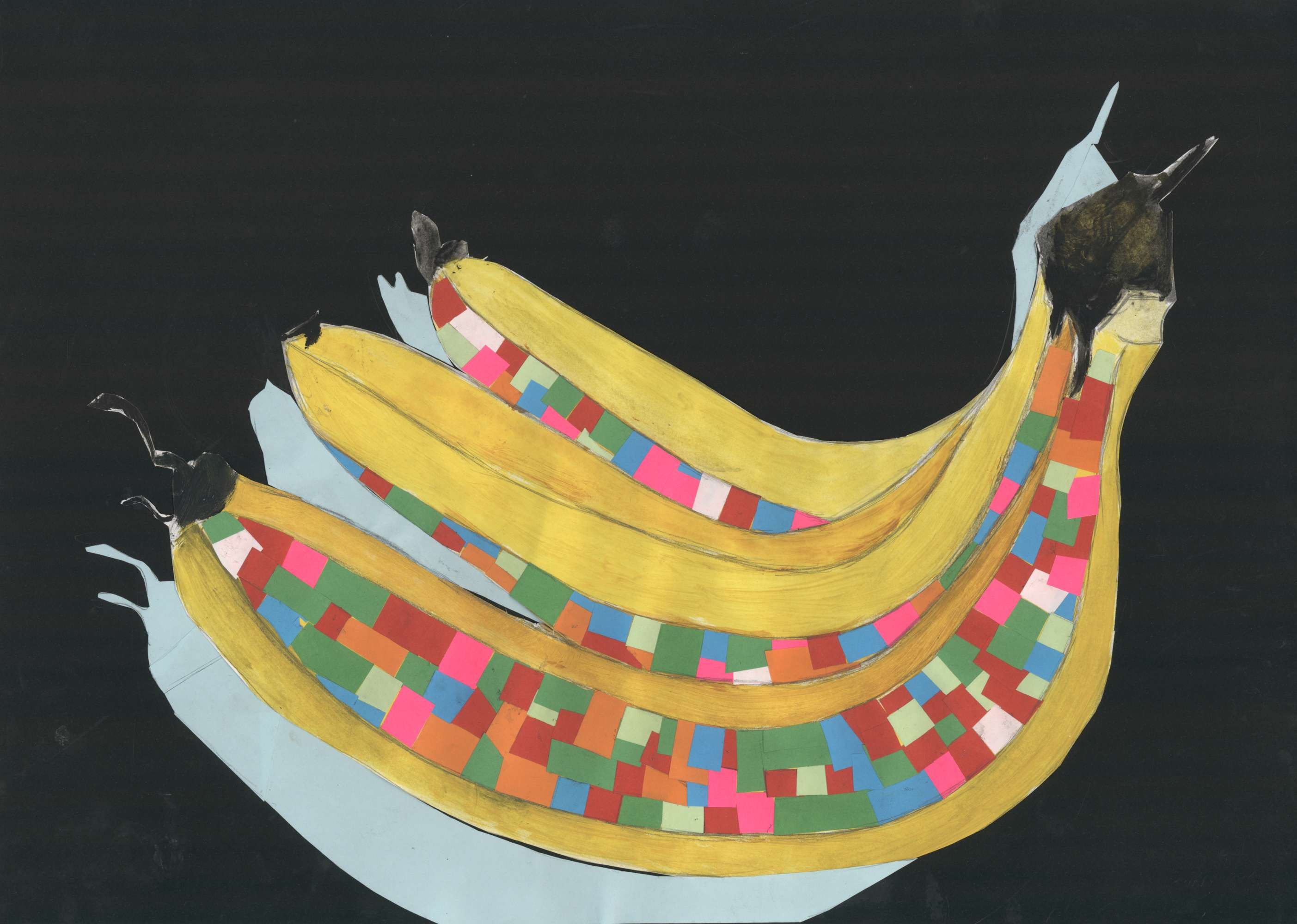 Colourful Bananas