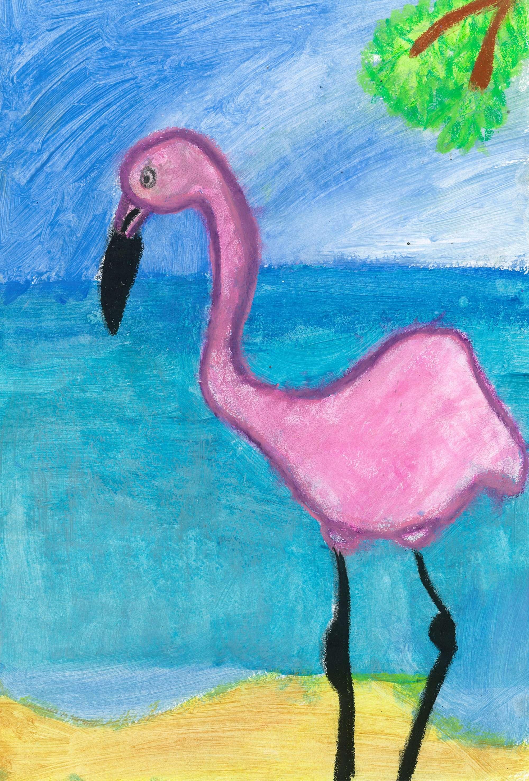 Fairy Floss Flamingo