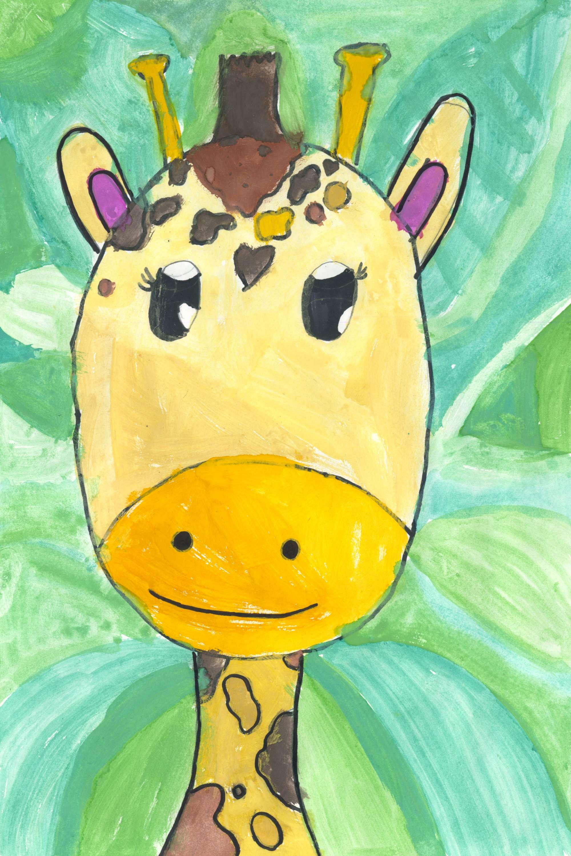 Jungle Giraffe
