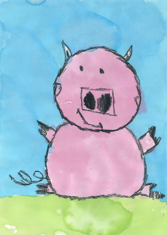 Pretty, Pink, Pig