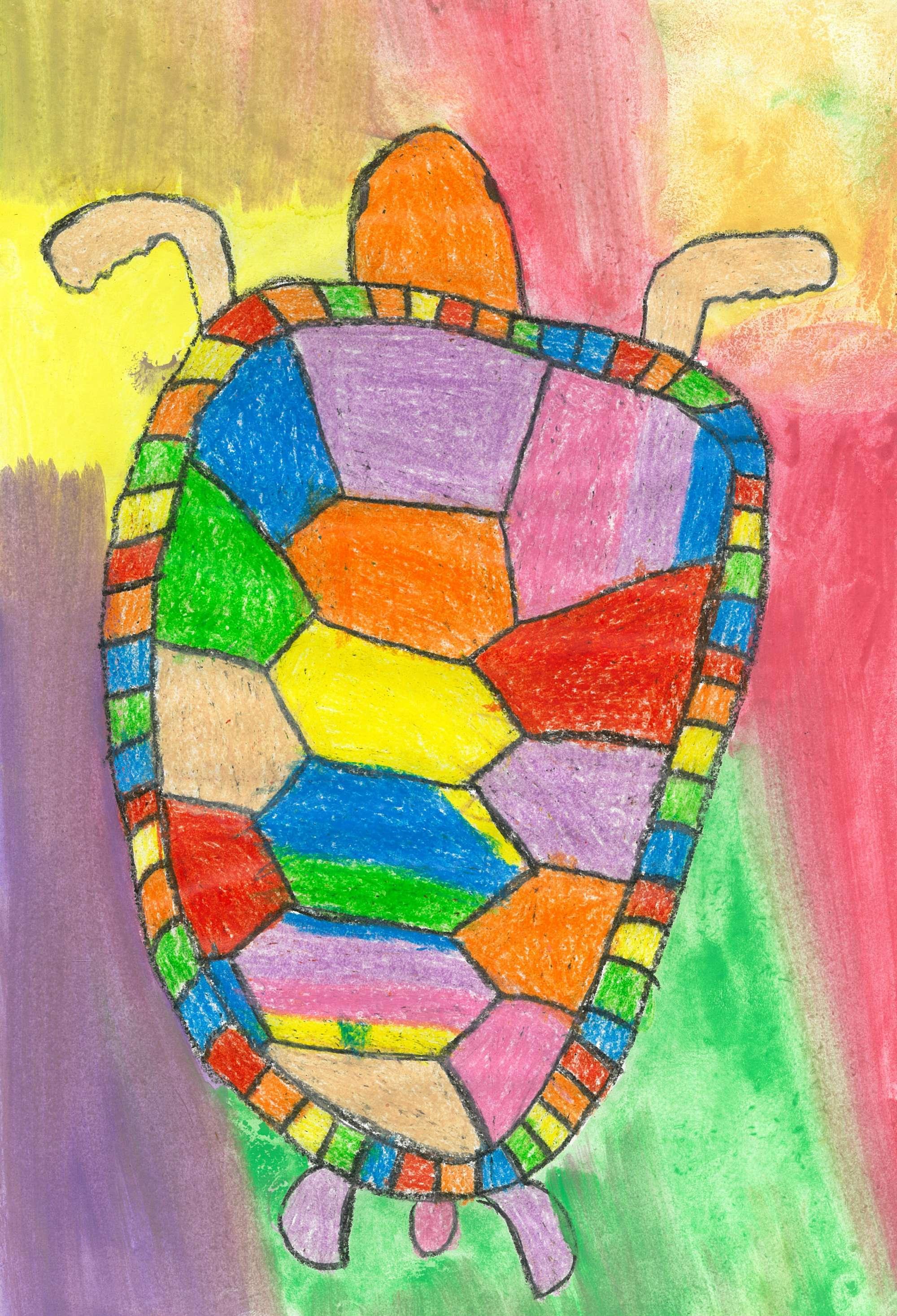 Water Colour  Sea Turtle