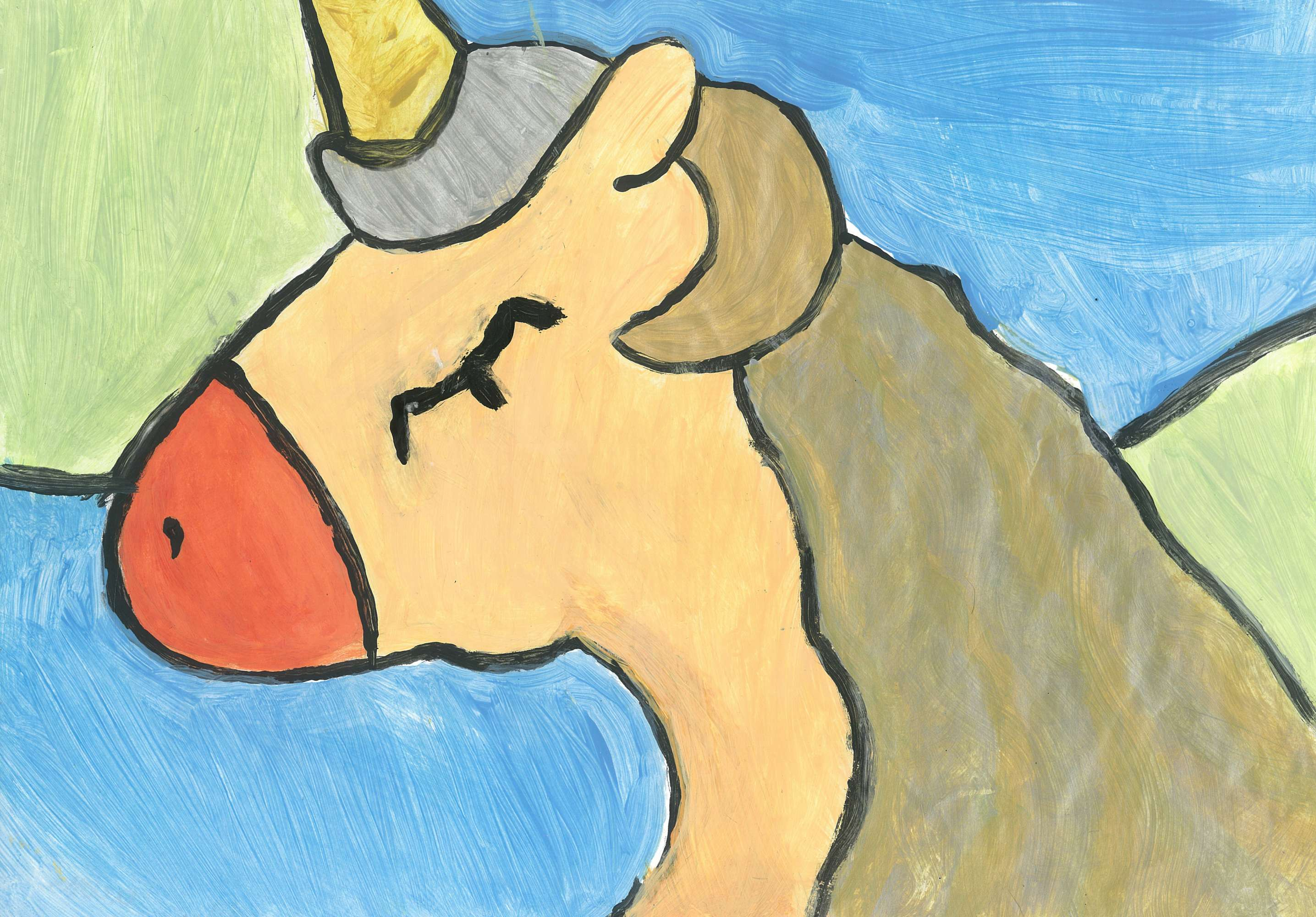 The Peach Unicorn