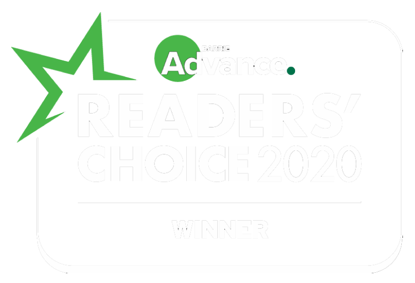 readers choice 2020 logo