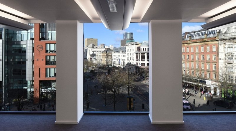 One Portland Street - view from office