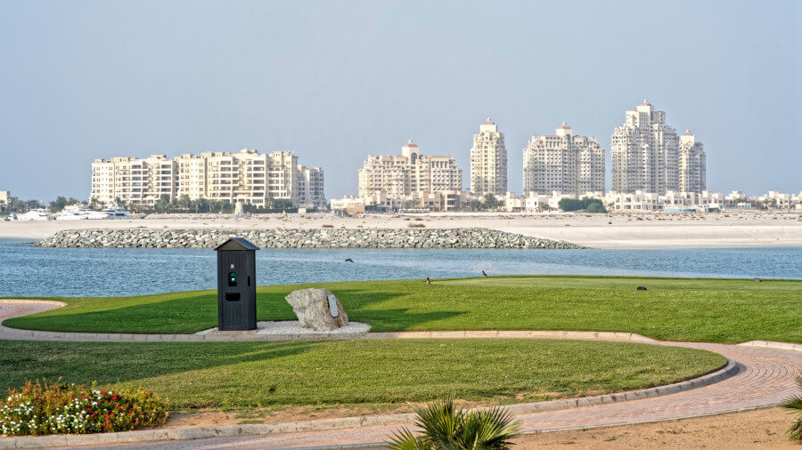 Al Hamra Golf course in Ras Al Khaimah