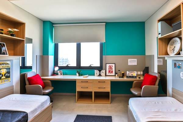 Shared student room at uninestudents.ae in Dubai